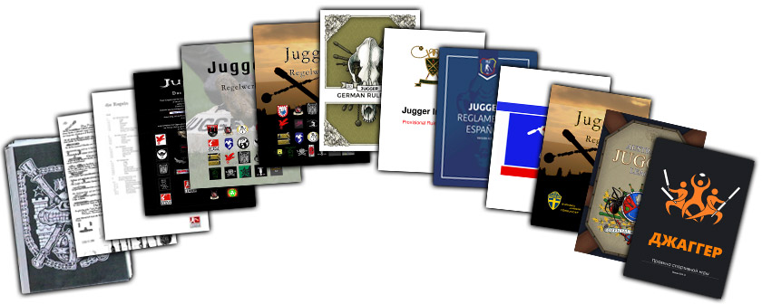 International Jugger Rulebooks